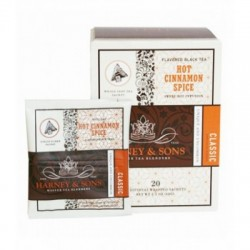 Harney & Sons Hot Cinnamon Spice, Wrapped Sachets