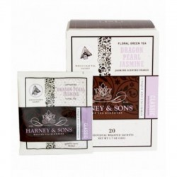 Harney & Sons Dragon Pearl Jasmine, Wrapped Sachets