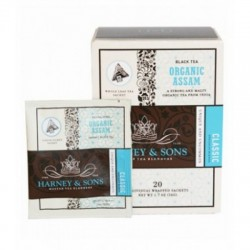 Harney & Sons Organic Assam, Wrapped Sachets