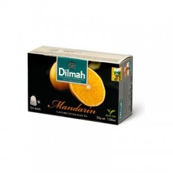Dilmah Mandarin, čaj černý, mandarinka, 20x1,5g
