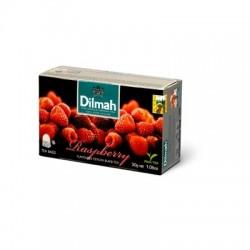 Dilmah Raspberry, čaj černý, malina, 20x1,5g