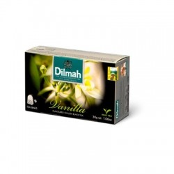 Dilmah Vanilla, čaj černý, vanilka, 20x1,5g