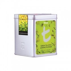 Dilmah T-Caddy Green Tea with Jasmine Flowers sypaný, 100g