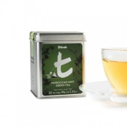 Dilmah T-Caddy Moroccan Mint Green Tea, sypaný, 80g