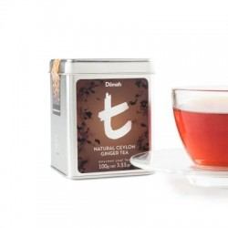 Dilmah T-Caddy Natural Ceylon Ginger Tea, sypaný, 100g