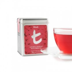 Dilmah T-Caddy Natural Rosehip with Hibiscus, sypaný, 90g