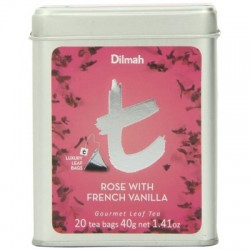 Dilmah T-Caddy Rose with French Vanilla, sypaný, 100g