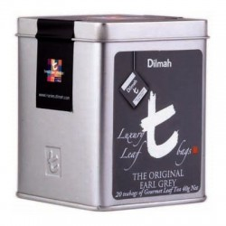 Dilmah T-Luxury The Original Earl Grey, hedvábný pyramidový sáček, 20x2g