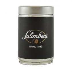 Salimbene Espresso Caffettieria 250g, zrnková káva v dóze