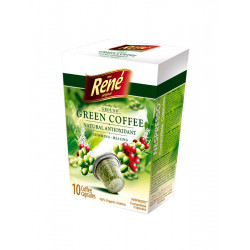 René Green Coffee pro Nespresso 10 ks