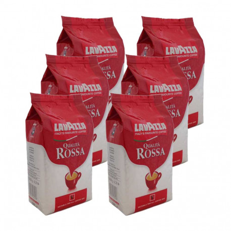 Lavazza Qualita Rossa 6 x 1 kg, zrnková káva
