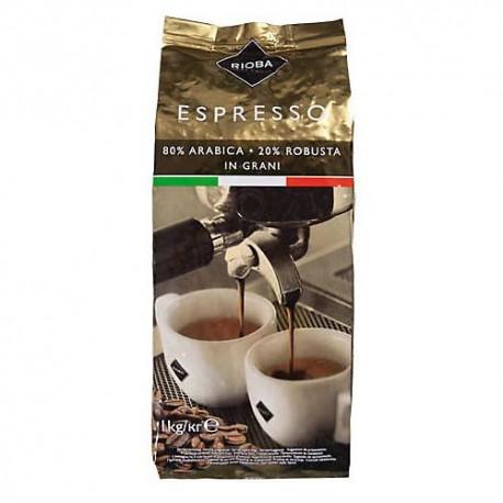 Rioba Gold - 1kg, zrnková káva