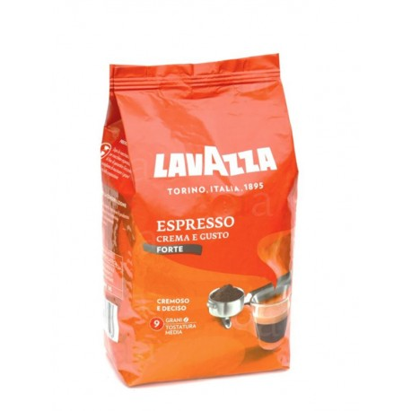 Lavazza Espresso Crema e Gusto Forte - 1 kg, zrnková káva