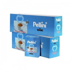 Pellini Decaffeinato 100x7g mletá káva
